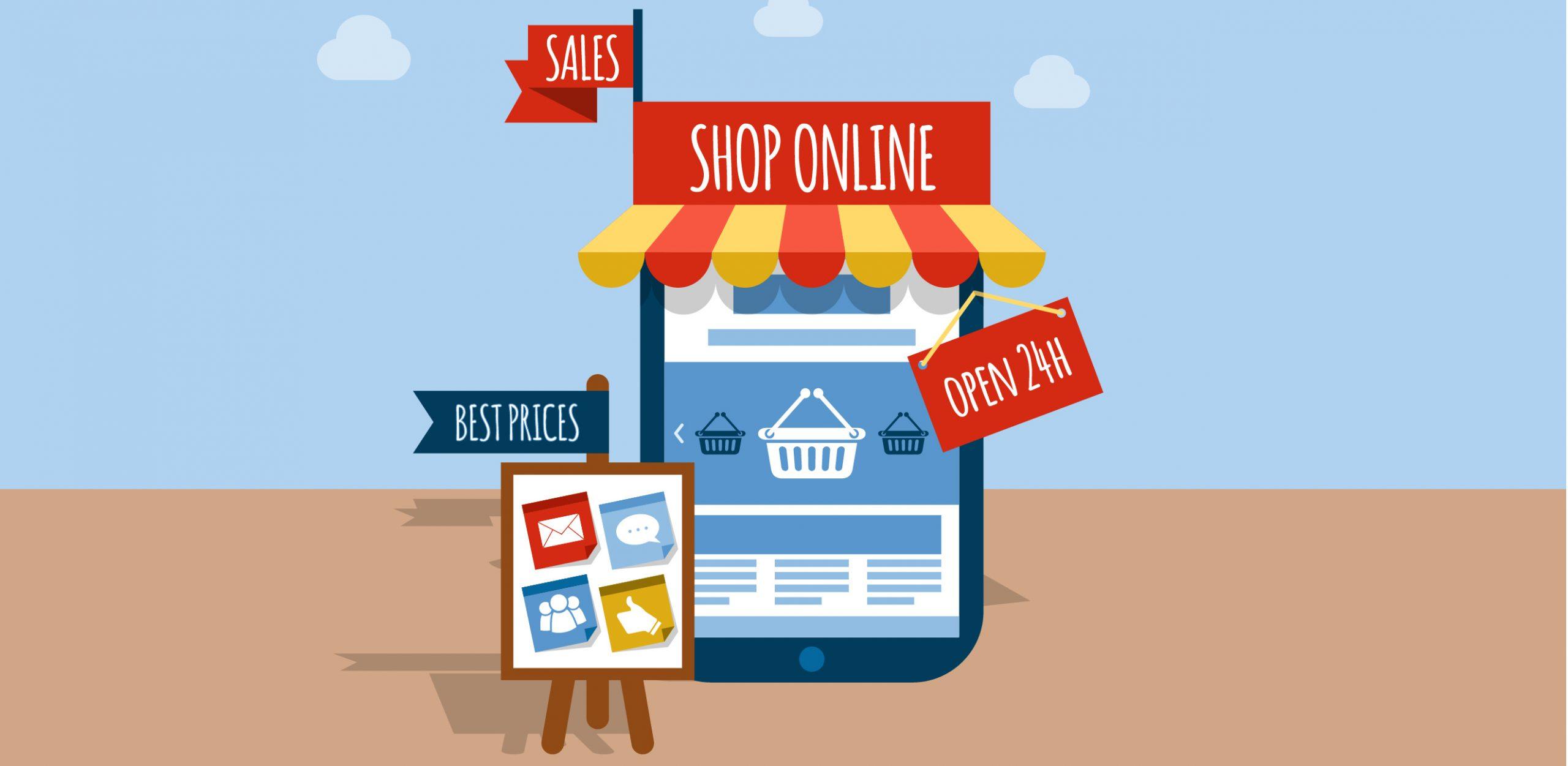 ejemplo de tienda en línea