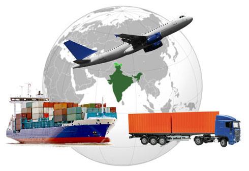 diferentes medios de transporte y opciones de envío