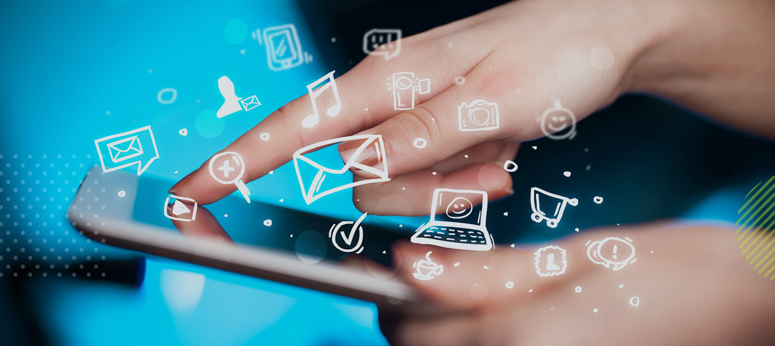 celular ejecutando campaña digital