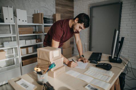 La plataforma de entregas me ayuda en el negocio