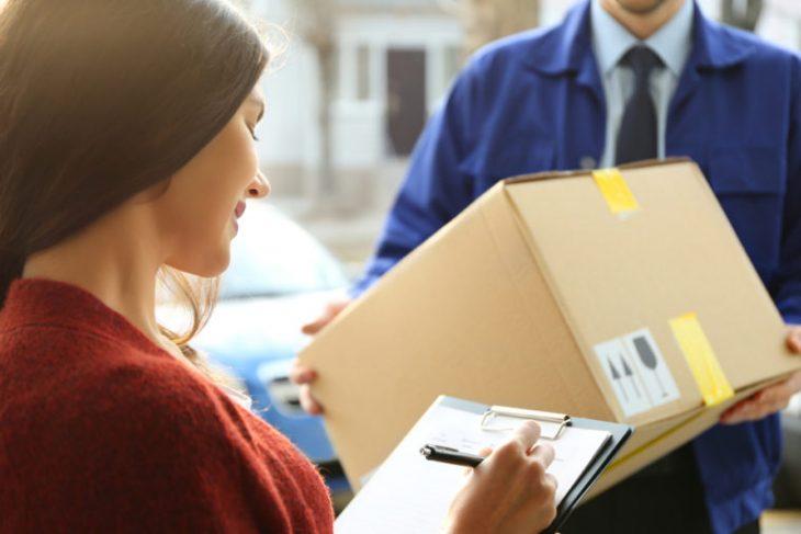 Guía de envío; comercio electrónico