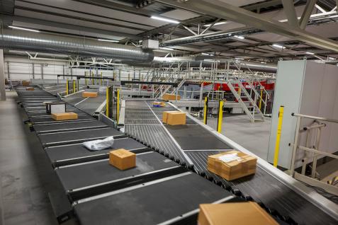 Clasificación automatizada de paquetes
